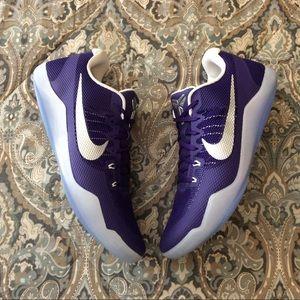 New Nike Kobe XI 11 TB Low Court Purple Mens 16.5